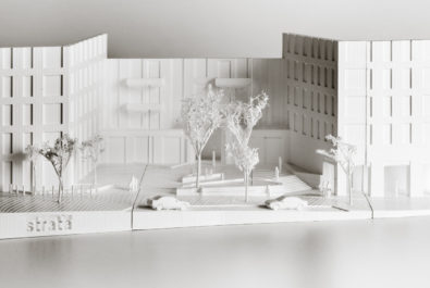 Image of Strata Design Associates 3D print of HUB mixed-use development, Chesterfield House