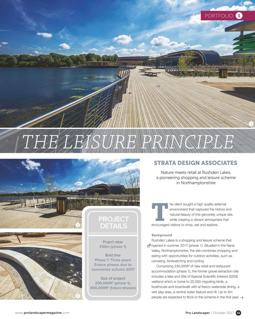 Image of Strata Design feature in Pro Landscaper journal