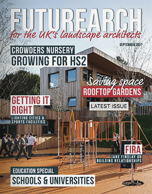 Image of FutureArch magazine front cover with Strata Design feature